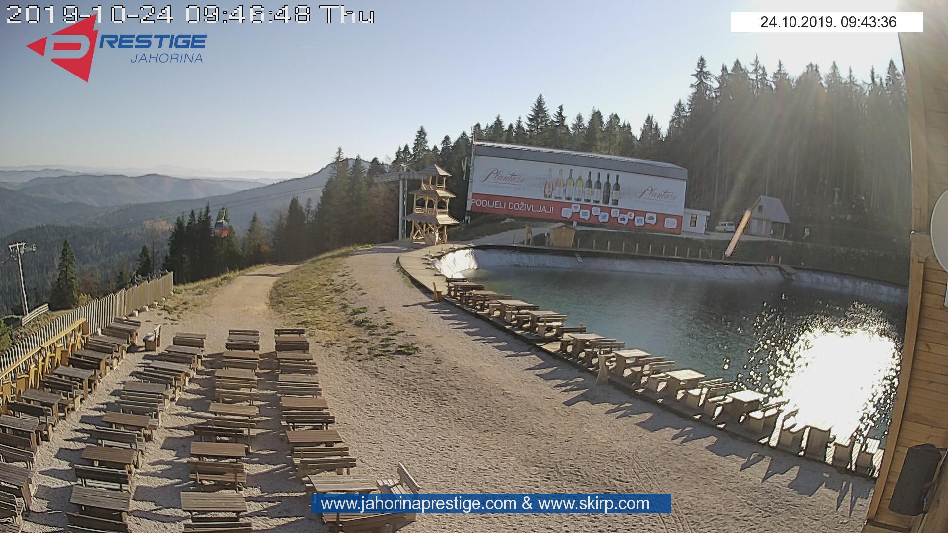 Web Kamera Jezero Ravna Planina
